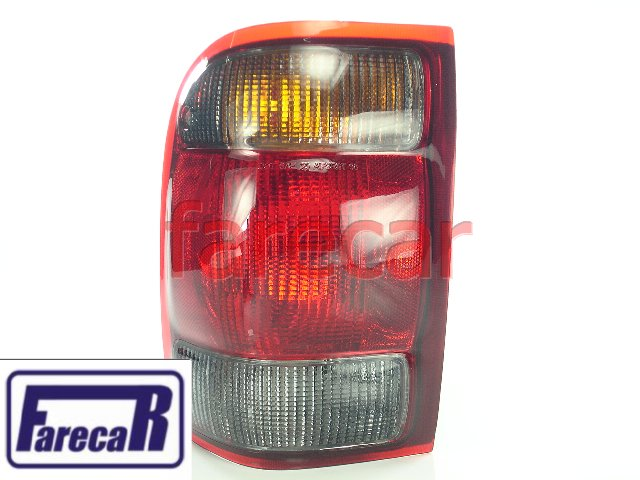 Lanterna Traseira Fume Ford Ranger 1998 A 2003  - Farecar Comercio