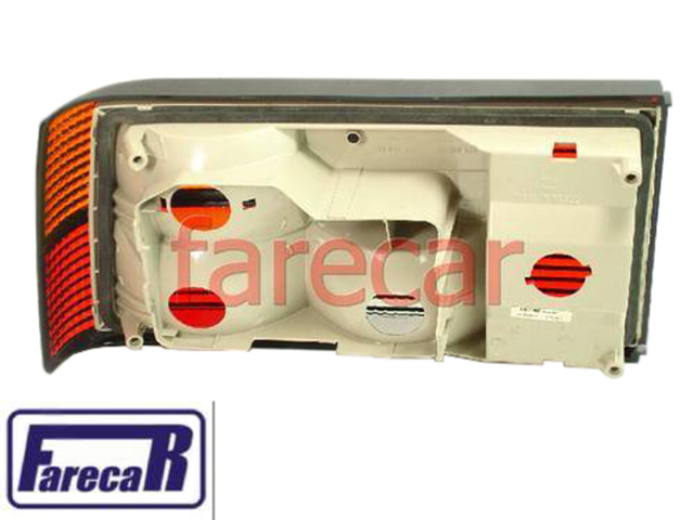 Lanterna Traseira Monza Classic Friso Cromado Direita  - Farecar Comercio