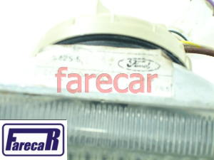 Farol Milha Parachoque Santana Versailles 1991/1994 Original  - Farecar Comercio