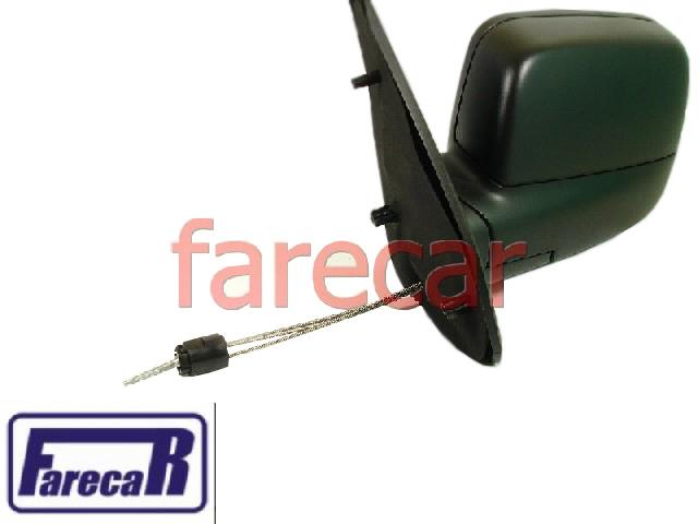 Espelho Retrovisor Ecosport Controle Alavanca  - Farecar Comercio