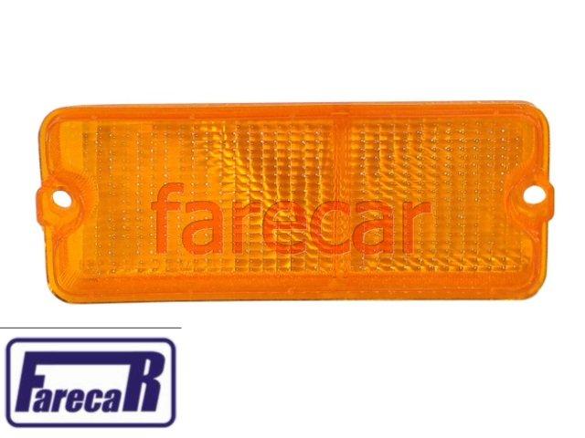 Lente Lanterna Dianteira Fiat 147 1976 1979 Original Esquerda  - Farecar Comercio