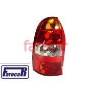 Lanterna Fiat Palio Weekend Perua 2001 a 2004 Tricolor Nova