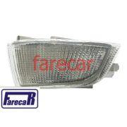 Lanterna Pisca Seta Parachoque Escort XR3 93 a 96 Cristal