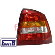 LANTERNA ASTRA 2 PORTAS HATCH PISCA AMBAR 99 00 01 02 - SERVE 1999 A 2002