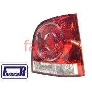 LANTERNA TRASEIRA POLO HATCH 2007 A 2011 07 08 09 10 11 2007 2008 2009 2010 2011