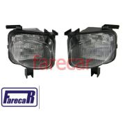 PAR DE FAROL MILHA NEBLINA DO PARACHOQUE ORIGINAL GM CARELLO CORSA GSI SEDAN WAGON 1994 A 1999 94 95 96 97 98 99 1995 1996 1997 1998