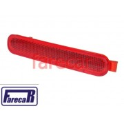 lanterna refletor vermelho refletivo parachoque traseiro fiat siena