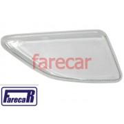 lente de vidro do farol milha neblina parachoque Ford Fiesta 2000 a 2002 Courier 2000 a 2013