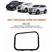 Aro Moldura Coifa De Cambio Toyota Hilux Sw4 4x4 2006 2007 2008 2009 2010 2011 2012 2013 2014 2015 2016 2017 2018