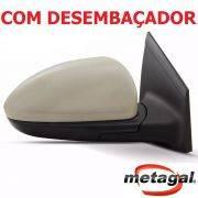 espelho retrovisor direito passageiro original Gm Metagal Cruze LTZ LT eletrico com desembaçador termico 2012 2013 2014 2015 2016 12 13 14 15 16