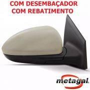 espelho retrovisor direito passageiro original Gm Metagal Cruze LTZ LT eletrico com fechamento automatico rebatimento Foldway e desembaçador termico 2012 2013 2014 2015 2016 12 13 14 15 16