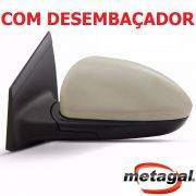 espelho retrovisor esquerdo motorista original Gm Metagal Cruze LTZ LT eletrico com desembaçador termico 2012 2013 2014 2015 2016 12 13 14 15 16