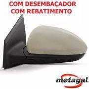 espelho retrovisor esquerdo motorista original Gm Metagal Cruze LTZ LT eletrico com fechamento automatico rebatimento Foldway e desembaçador termico 2012 2013 2014 2015 2016 12 13 14 15 16