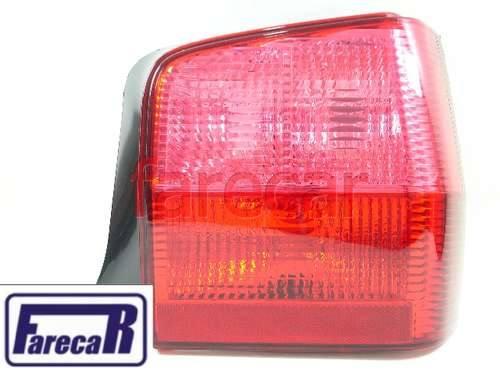 Lanterna Traseira Uno 2005 Em Diante Vermelha Nova  - Farecar Comercio