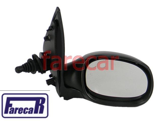 Espelho Retrovior Peugeot 206 1999 Em Diante Alavanca Novo  - Farecar Comercio