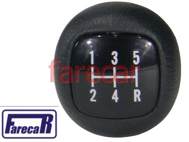 Manopla Bola Cambio F-1000 F-4000 5 Marchas F4000 F1000 Nova  - Farecar Comercio