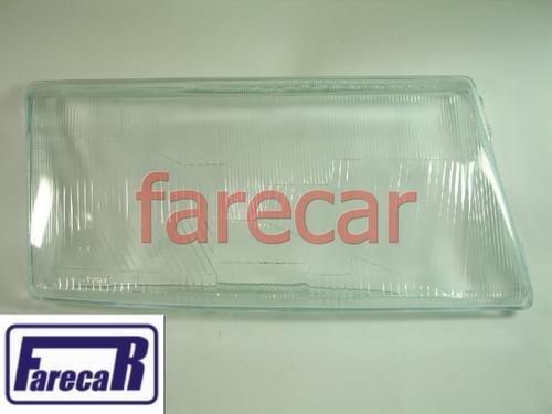 Lente Vidro Farol Fiat Tempra 1992 A 1995 Nova  - Farecar Comercio