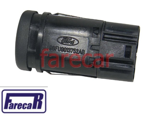 Botao Luz Lanterna Caçamba Brake Light Courier Breake  - Farecar Comercio
