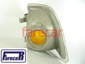 Lanterna Dianteira Pisca Seta Monza 1991 a 1996 Mod A Cristal Nova  - Farecar Comercio