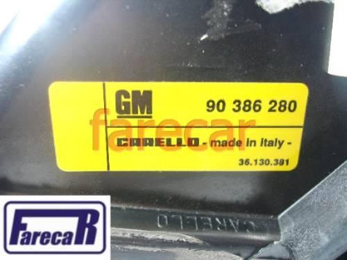 Farol Milha Corsa Gsi Sedan 1994 A 1999 Original Gm Esquerdo  - Farecar Comercio