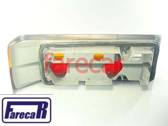 Lanterna Traseira Del Rey 1981 A 1984 Tricolor Nova  - Farecar Comercio
