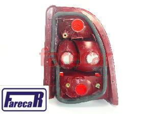Par Lanterna Traseira Palio Strada 1998 A 2004 Fume Cibie  - Farecar Comercio