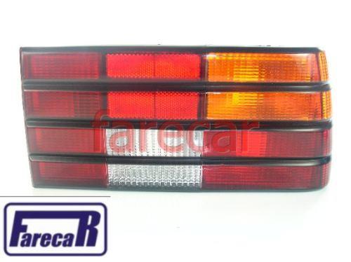 Lanterna Monza 1982 A 1990 Tricolor Com Friso Preto Nova  - Farecar Comercio