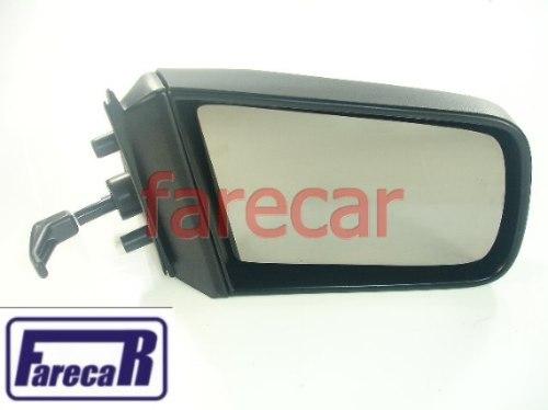 Espelho Retrovisor Chevette 1987 A 1993 Controle Alavanca  - Farecar Comercio