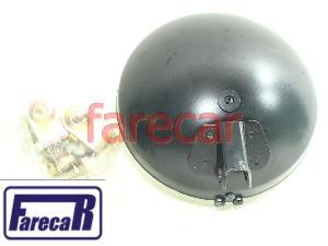 Par Farol Milha Mini Premium Raiado Carcaça Plastica Rc387  - Farecar Comercio