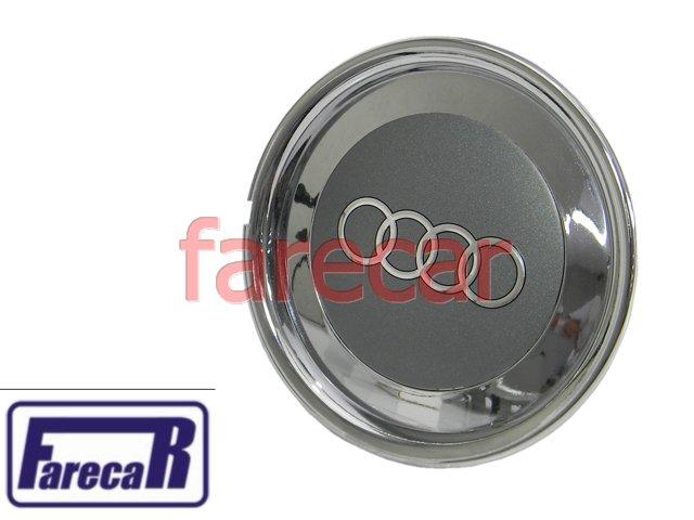 Calota Do Miolo Da Roda Audi A3 Cromada Nova  - Farecar Comercio
