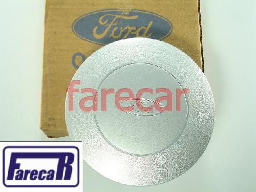 Calota Do Miolo Roda De Ferro Fiesta 02 a 04 Original Ford  - Farecar Comercio