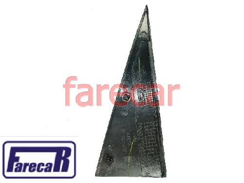 Moldura Externa Porta Traseira Meriva Preta Original  - Farecar Comercio