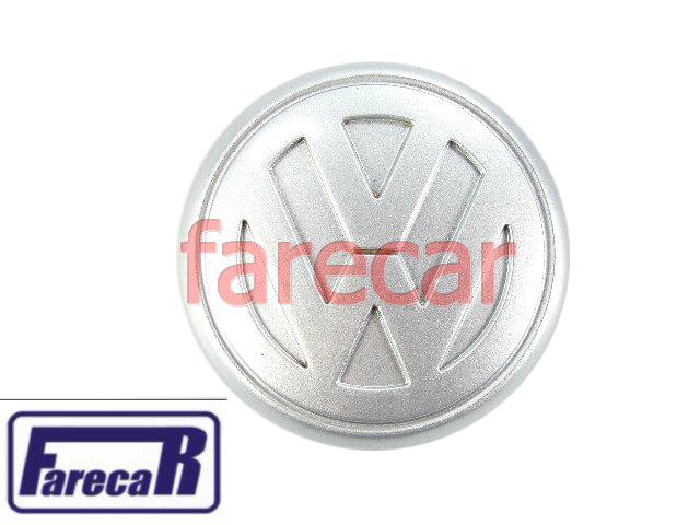 Calota Miolo Cubo Central Roda Liga Leve Logus E Pointer Original  - Farecar Comercio