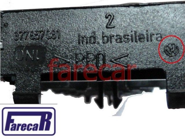 Kit Moldura + Botao Falso Gol Saveiro e Gol Special Original  - Farecar Comercio