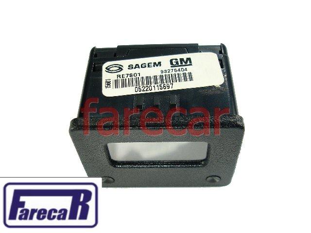 Relogio Digital Hora Painel S10 Blazer S-10 Novo Original GM  - Farecar Comercio