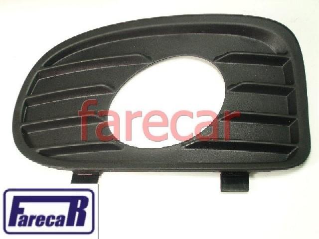 Moldura Farol Milha Parachoque Vectra 2000 A 2001 Nova  - Farecar Comercio