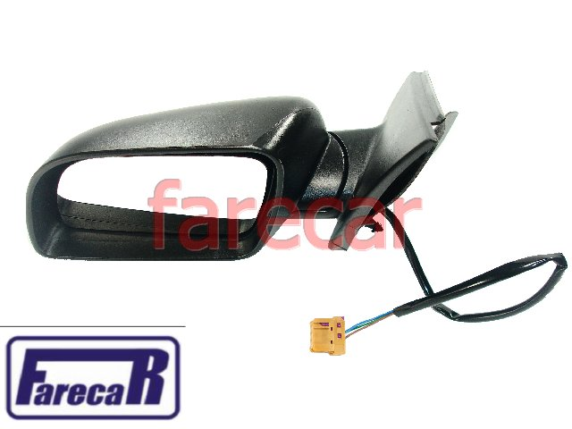 Espelho Retrovisor Eletrico Vw Polo 2003 em Diante Novo  - Farecar Comercio