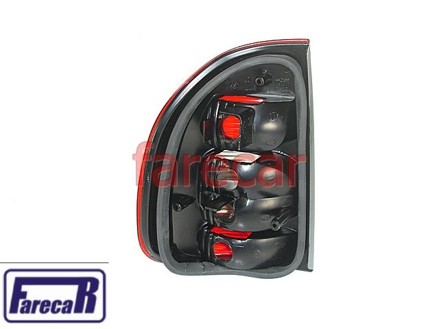 Kit Lanterna Traseira Bolha Corsa Sedan Com Soquete Circuito  - Farecar Comercio