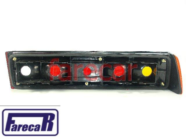 Lanterna Traseira Vw Santana 1984 a 1990 Tricolor Nova  - Farecar Comercio