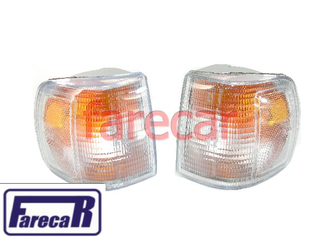 Par Lanterna Pisca Seta Gol 91 A 95 Cristal Encaixe Arteb  - Farecar Comercio