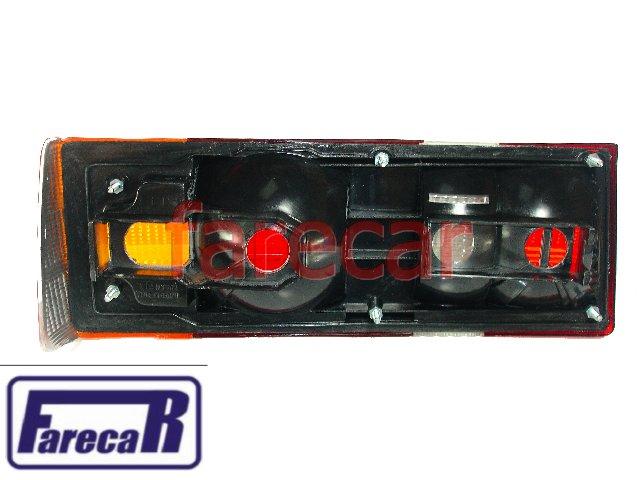 Lanterna Traseira Escort 1984 a 1986 L GL e XR3 Tricolor Nova  - Farecar Comercio