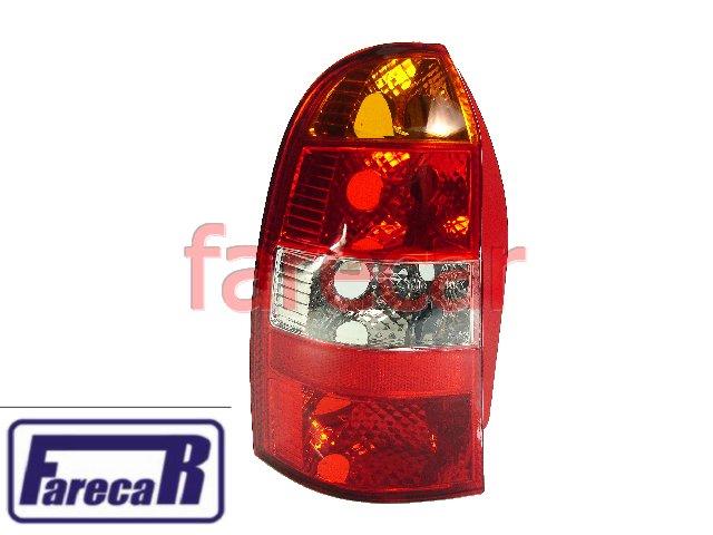 Lanterna Fiat Palio Weekend Perua 2001 a 2004 Tricolor Nova  - Farecar Comercio