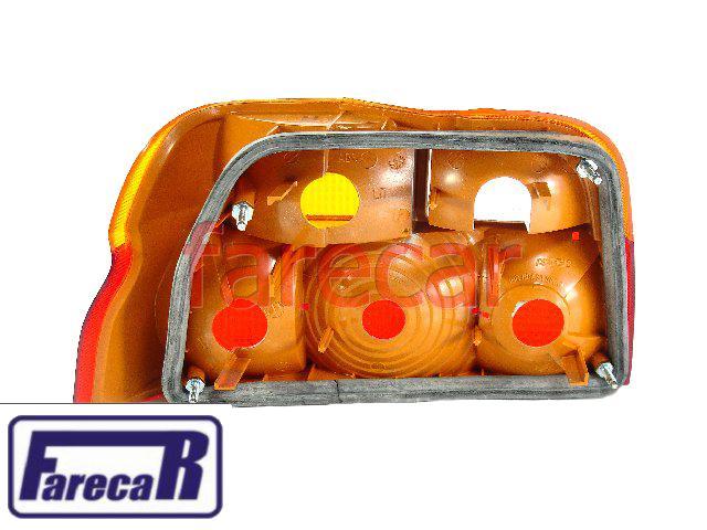 Lanterna Escort Verona 93/96 Tricolor Original Ford Arteb Só Lado Direito  - Farecar Comercio