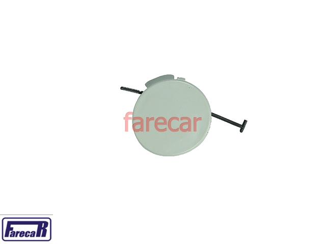 Tampa Primer Furo Reboque Parachoque Traseiro Citroen C3 2003 A 2007 03 04 05 06 07 2004 2005 2006  - Farecar Comercio