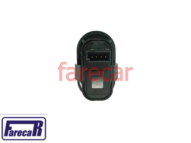 Botao Porta Vidro Eletrico Simples Celta Astra Corsa Zafira Meriva Prisma  - Farecar Comercio