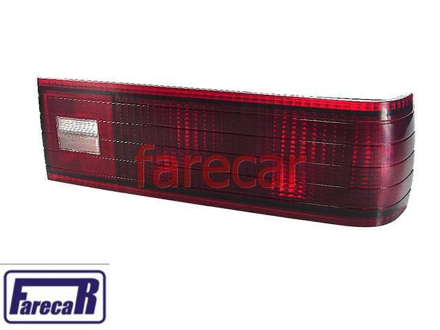 Lanterna Opala 80 a 84 Original Com Logo Arteb Hella Direita Vermelha  - Farecar Comercio