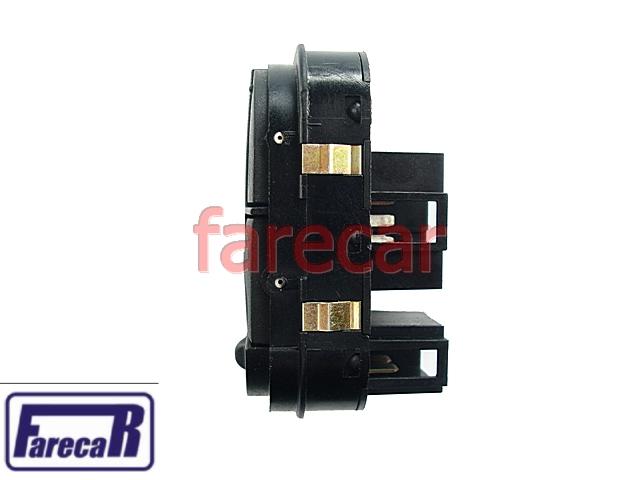 Botao Vidro Eletrico quadruplo Escort Zetec e Perua Sw  4 portas 1997 1998 1999 2000 2001 2002  - Farecar Comercio