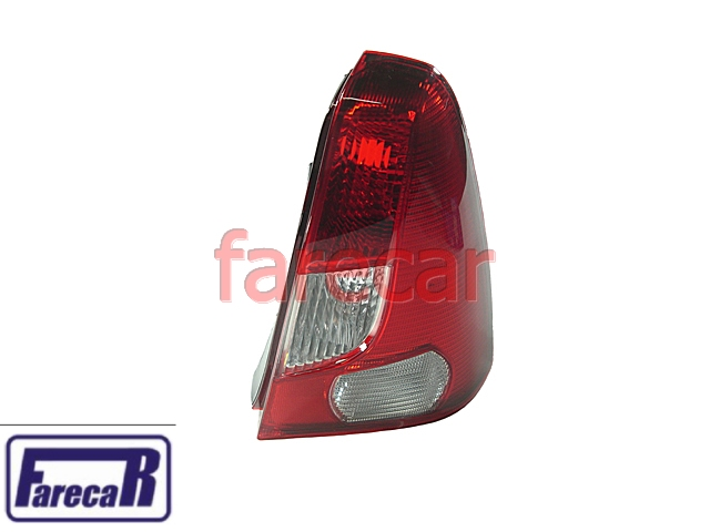 Lanterna Traseira Renault Logan 2007 A 2010 Nova  - Farecar Comercio