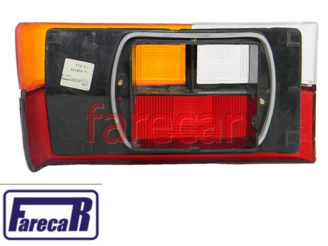 Lanterna Gol 80 a 86 Tricolor Friso Cromado Direita Original  - Farecar Comercio