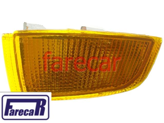 Lanterna Pisca Seta Parachoque Escort XR3 93 a 96 Ambar  - Farecar Comercio